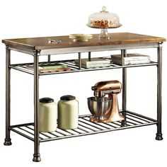 I pinned this Orleans Butcher Block Kitchen Island from the Get the Look: Kitchen Trends event at Joss and Main!