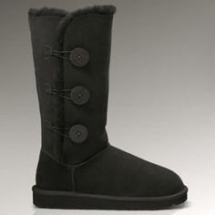 NIB Ugg Bailey boots (6W) Never been worn Ugg Bailey boots in black size 6womens UGG Shoes Winter & Rain Boots