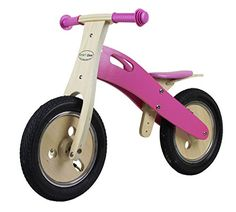 Kids' Balance Bikes - Smart Gear Wooden Smart Balance Kids Bike  Bubbleicious -- Check this awesome product by going to the link at the image.