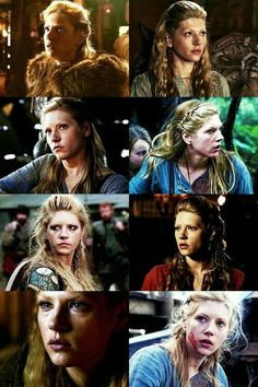 "The Many Faces of Lagertha.  Vikings on the History Channel.  ""Lagertha"""