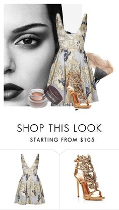 """""""Sans titre #120"""" by li-directioner ❤ liked on Polyvore featuring Notte by Marchesa and Giuseppe Zanotti"""