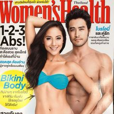 Briohny x Dice Iida-Klein on the cover of Women's Health Thailand
