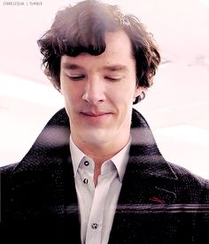 You really have no idea just how attractive you really are, do you, Mr. Cumberbatch. :P  Just another reason I love you. :)  But really, you should stop with all the cute smirking because it disrupts my ability to do anything productive... (Ignore me; please continue.)