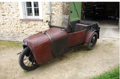 All new for 1928, Presenting The One, The ONLY, VILLARD CYCLECAR. All Sale Final.