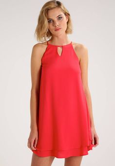ONLY. ONLMARIANA MYRINA - Summer dress - poinsettia. Outer fabric material:97% polyester, 3% spandex. Pattern:plain. Care instructions:machine wash at 40°C,do not tumble dry,A shrinkage of up to 5% may occur. Neckline:round neck. Sleeve length:Spaghe...