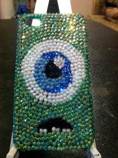 Mike Wazowski iPhone 4/4s Case. by Jennysart8 on Etsy, $30.00