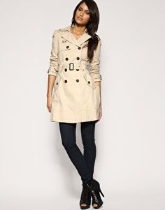 Enlarge ASOS Double Breasted Trench