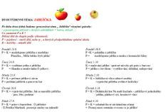 Program Jablíčka