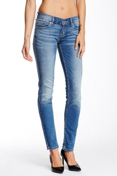 Levi's - 524 Fade Into Blue Skinny Jean - Multiple Lengths Available (Juniors) at Nordstrom Rack. Free Shipping on orders over $100.