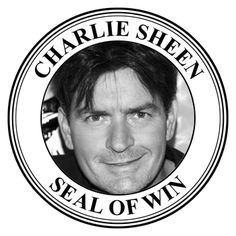 Charlie Sheen Seal Of Win