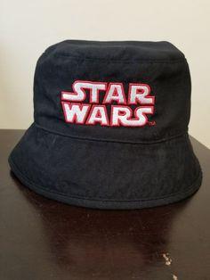 5f22df8b922 Star Wars Bucket Hat Boys NWT Reversible Graphic Black Stormtroopers  2-Sides  fashion