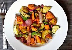 Potato and Veggie Roast Recipe -  How are you today? How about making Potato and Veggie Roast?