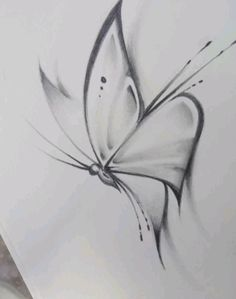 How to draw a butterfly drawing Butterfly Sketch Art Drawings Sketches Simple, Girl Drawing Sketches, Pencil Art Drawings, Beautiful Drawings, Cool Drawings, Drawing Drawing, Easy Sketches To Draw, Pencil Sketch Art, How To Sketch