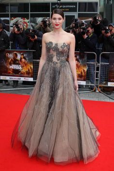 Gemma Atherton in Valentino