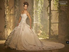Amalia Carrara - my wedding dress (but with an extra long train lol)...I was and still am so in love with it <3