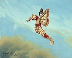 See Horse Fly (2006) - Linda R. Herzog http://www.natureartists.com/art/resized/267_See_Horse_Fly_8_x8_10_oil_April_2006_.jpg
