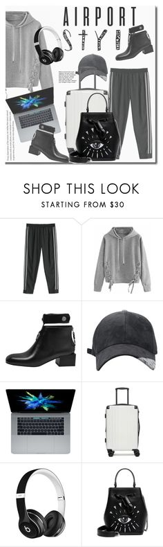 """Без названия #2534(2)"" by marikamoshar ❤ liked on Polyvore featuring WithChic, CalPak, Beats by Dr. Dre and Kenzo"