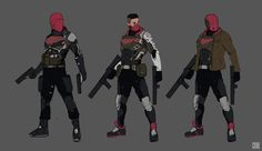 Red Hood- Art Station by James Choe Red Hood Jason Todd, Jason Todd Batman, Dc Comics Art, Marvel Dc Comics, Comic Character, Character Design, Batman Redesign, Batman Comic Art, Gotham Batman