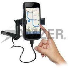 Amzer Lighter Socket Phone Mount with Charging Case System