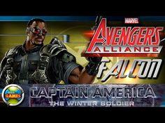 Falcon Capitao America 2 Marvel Avengers Alliance Spec OP #17