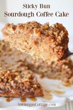 Sourdough Cake Recipe, Sourdough Starter Discard Recipe, Sourdough Recipes, Sourdough Bread, Bread Starter, Real Food Recipes, Baking Recipes, Cake Recipes, Dessert Recipes