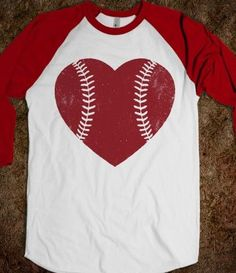 We love going to baseball games in the summer time! I love this cute shirt!