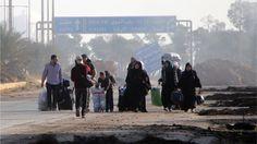 Aleppo siege: UN envoy Mistura 'appalled' by rebel attacks - BBC News