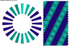 K799 - friendship-bracelets.net  It's a 40 thread kumihimo...my disc has 32 slots. :/ Need to find or make a 40 slot (do rectangles have that many??) because I MUST amke this braid!!