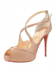 2f39374d2da4 X3Y2S Christian Louboutin Mirabella Strappy Patent Red Sole Sandal Top  Shoes