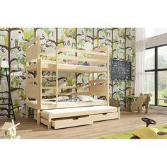 Levné Dětské patrové postele: Dřevěná patrová postel s úložným prostorem Aquila Bunk Beds, Furniture, Home Decor, Decoration Home, Loft Beds, Room Decor, Home Furnishings, Home Interior Design, Bunk Bed