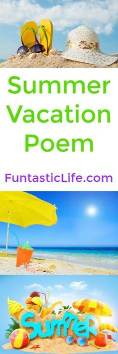 Summer Vacation Poem