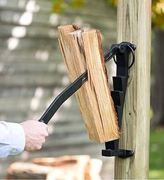 Product FeaturesOriginal Stikkan cast iron kindling makerThe easier, safer and more efficient way to make kindlingWall-mounted design with safety lockNo need for hatchet,
