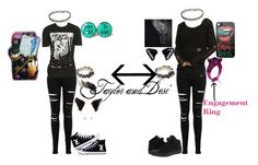 Fanfiction by desi-night on Polyvore featuring Miss Selfridge, Converse, AS29 and Werkstatt:München