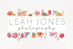 Check out this item in my Etsy shop https://www.etsy.com/listing/230515727/premade-photography-logo-feathers