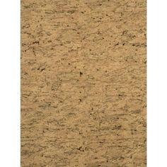 York Wallcoverings RN1028 Sueded Cork (Brown) Wallpaper
