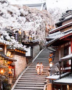 Japan Spring, Japanese Nature, Himeji Castle, Japan Sakura, Cherry Blossom Japan, Osaka Castle, Go To Japan, Famous Castles, History