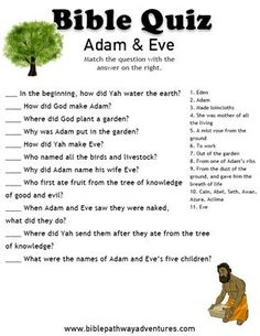 Adam and Eve | FREE Download.