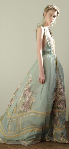 ♥ Romance of the Maiden ♥ couture gowns worthy of a fairytale - Alberta Ferretti