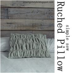 How to make this throw pillow