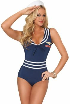 3wishes ready and able costume sexy sailor costumes for women - Sailors Halloween Costumes