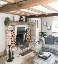 Cottage Interiors, My Dream Home, Interior Inspiration, Interior And Exterior, Gate, Interior Decorating, Shabby Chic, House Ideas, New Homes