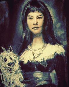 #IsaacGabrielBuys #doGabiel #charcoal #Artist #mixedmedia (After old master)