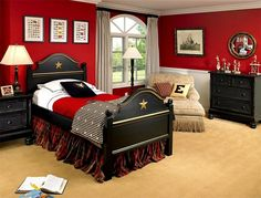 Fiery And Fascinating: 25 Kidsu0027 Bedrooms Wrapped In Shades Of Red
