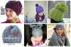 donneinpink magazine: 6 cappelli fai da te maglia ai ferri. Tutorial gra...