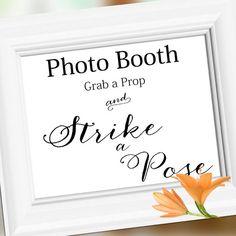 Wedding Sign Signage Decoration Wedding Photo by weddingfusion, $5.00