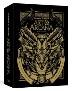 A deluxe, special edition package containing art prints, ephemera, and the illustrated guide to the history and evolution of the beloved role-playing game as told through the paintings, sketches, and illustrations behind its creation, growth, and continued popularity.