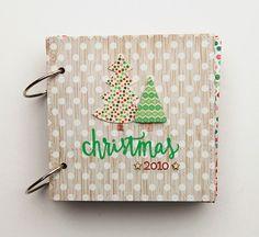 deb duty papercrafting: christmas minibook