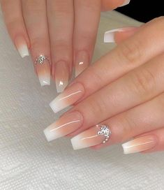 In seek out some nail designs and some ideas for your nails? Here's our listing of must-try coffin acrylic nails for modern women. Summer Acrylic Nails, Best Acrylic Nails, Acrylic Nail Designs, Gel Uv Nails, Glow Nails, Nail Nail, Glitter Nails, Popular Nail Designs, Swarovski Nails