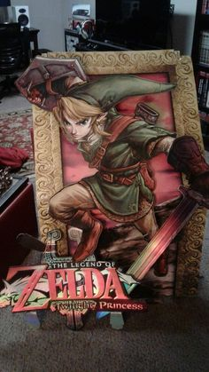 This is Nicest Legend Of Zelda Store Display Nintendo Ever Made