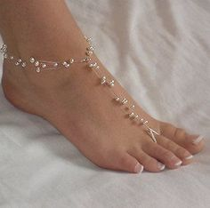 Swarovski Pearl Floating Pearl Beach Wedding by jewelsbymichele